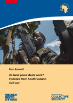 Do local peace deals work?